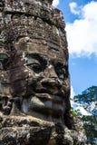 Tempie di Angkor Wat Bayon Fotografia Stock Libera da Diritti