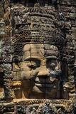 Tempie di Angkor Wat Bayon Fotografie Stock Libere da Diritti