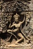 Tempie di Angkor Wat Bayon Immagine Stock Libera da Diritti