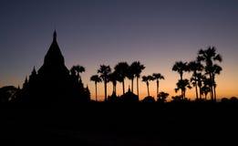 Tempie di Bagan immagine stock