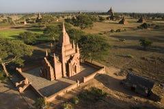 Tempie di Bagan in Myanmar Fotografia Stock Libera da Diritti