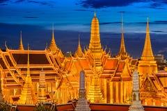 Tempie di Bangkok Fotografie Stock Libere da Diritti