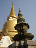 Tempie di Bangkok Fotografia Stock