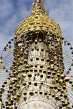 Tempie di Kakku, Myanmar_Detail Fotografia Stock