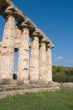Tempie di Paestum Fotografia Stock