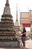 Tempie di turismo in Tailandia Immagini Stock Libere da Diritti