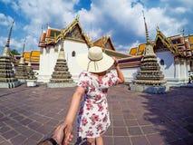 Tempie di Wat Pho Fotografie Stock