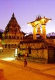 Tempie indù Nepal Fotografie Stock Libere da Diritti