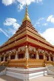 Tempie a Khon Kaen Fotografia Stock Libera da Diritti