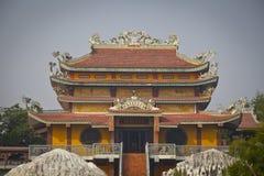 Tempie in Lumbini Immagini Stock Libere da Diritti