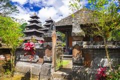Tempie misteriose di Bali, Indonesia fotografia stock libera da diritti