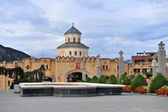 Tempie nel complesso della cattedrale di Tbilisi Fotografie Stock Libere da Diritti