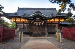 Tempie nel Giappone Fotografia Stock