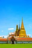 Tempie tailandesi, Wat Phra Kaew Fotografie Stock