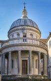 Tempietto在圣彼得罗在蒙托里奥,罗马 免版税库存照片