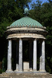 Tempietto di Diana. Small round temple in Villa Borghese park in Rome Stock Photos