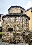 Tempietto di Santa Croce in old Bergamo, Italy Royalty Free Stock Image