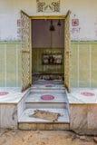Tempio-Agra domestica indù India Immagine Stock