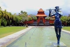 Tempio al benoa sull'isola di Bali immagini stock libere da diritti