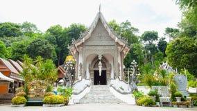 Tempio al provience di Chiangsan, Chiang Rai, nordico della Tailandia fotografia stock libera da diritti