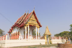 Tempio al wannaram di kokyai del wat Fotografia Stock Libera da Diritti
