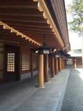 Tempio all'Hokkaido immagine stock libera da diritti