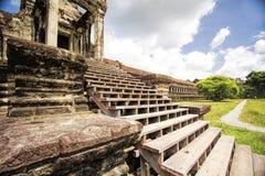 Tempio in Angkor Wat fotografia stock libera da diritti