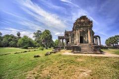Tempio in Angkor Wat fotografia stock
