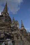 Tempio antico Ayuthathaya di rovina Immagine Stock