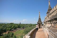 Tempio antico in Bagan immagini stock libere da diritti