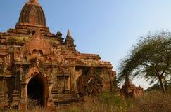 Tempio antico in Bagan Fotografie Stock