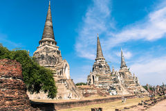 Tempio antico della Tailandia Immagini Stock