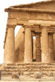 Tempio antico di accordo, Agrigento, Sicilia, Italia Fotografie Stock
