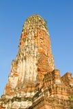 Tempio antico di Ayutthaya, Wat Phraram Fotografie Stock Libere da Diritti