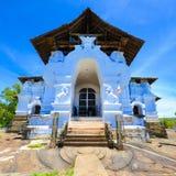 Tempio antico di Lankathilake, Sri Lanka Immagine Stock
