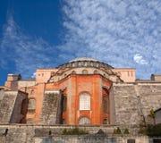 Tempio antico famoso di Hagia Sophia a Costantinopoli, Turchia immagini stock
