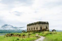 Tempio antico Muang Badan (subacqueo) Fotografia Stock Libera da Diritti