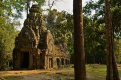 Tempio antico nell'area di Angkor Wat Immagine Stock Libera da Diritti