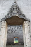 Tempio antico in Sankhlaburi Fotografie Stock Libere da Diritti