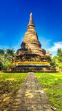 Tempio antico Wat Umong di Buddha Tailandia Fotografie Stock Libere da Diritti