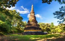 Tempio antico Wat Umong di Buddha Tailandia Immagini Stock Libere da Diritti