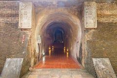 Tempio antico Wat Umong di Buddha Tailandia Fotografie Stock
