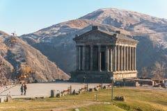 Tempio Armenia di Garni Immagine Stock Libera da Diritti
