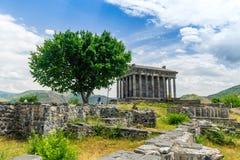 Tempio armeno di Garni immagine stock