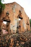 Tempio a Ayutthaya, Tailandia Immagini Stock