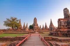 Tempio a ayutthaya Tailandia Immagine Stock