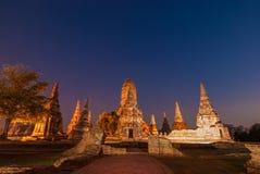Tempio a ayutthaya Tailandia Fotografia Stock
