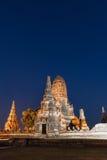 Tempio a ayutthaya Tailandia Immagini Stock