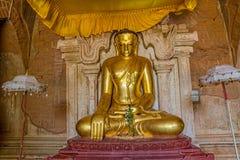 Tempio Bagan di Htilominlo Immagini Stock Libere da Diritti