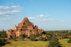 Tempio in Bagan, Myanmar (Birmania) Fotografie Stock